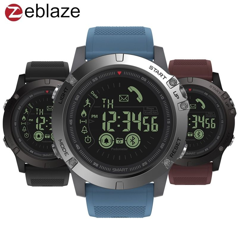 Zeblaze VIBE 3 GMT Two Places All-day Activity <font><b>Record</b></font> Sport 33 Month Long Standby Information Reminder Smartwatch Smart Watch