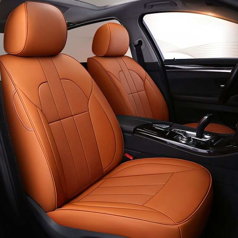 custom cowhide Leather car seat cover for Mercedes Benz A B C Class CLA CLK CLS ML GLA GLK GLE S E G accessories car styling