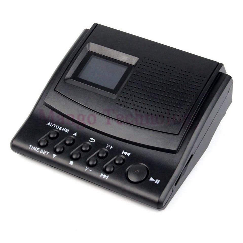 Y4308Z Beste Professionelle Digital Voice Recorder Anruf mit Lcd-Display + Caller ID + Uhr 110 V/220 V Telefon Recorder