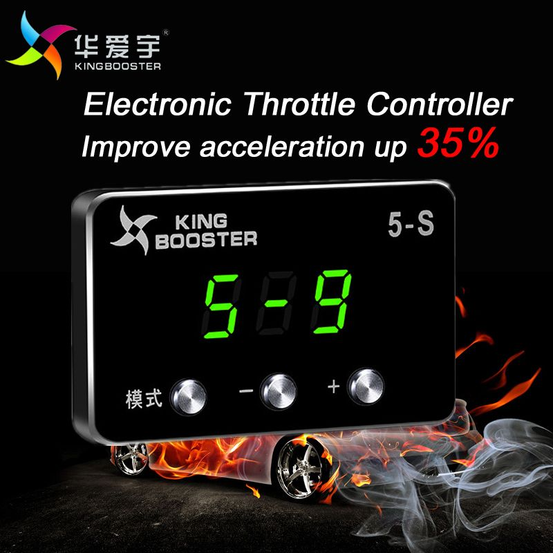 Electronic Throttle Controller Throttle Booster Accelerator Car Tuning Pedal Commander DIY Accessory For Toyota Prado 150 Series