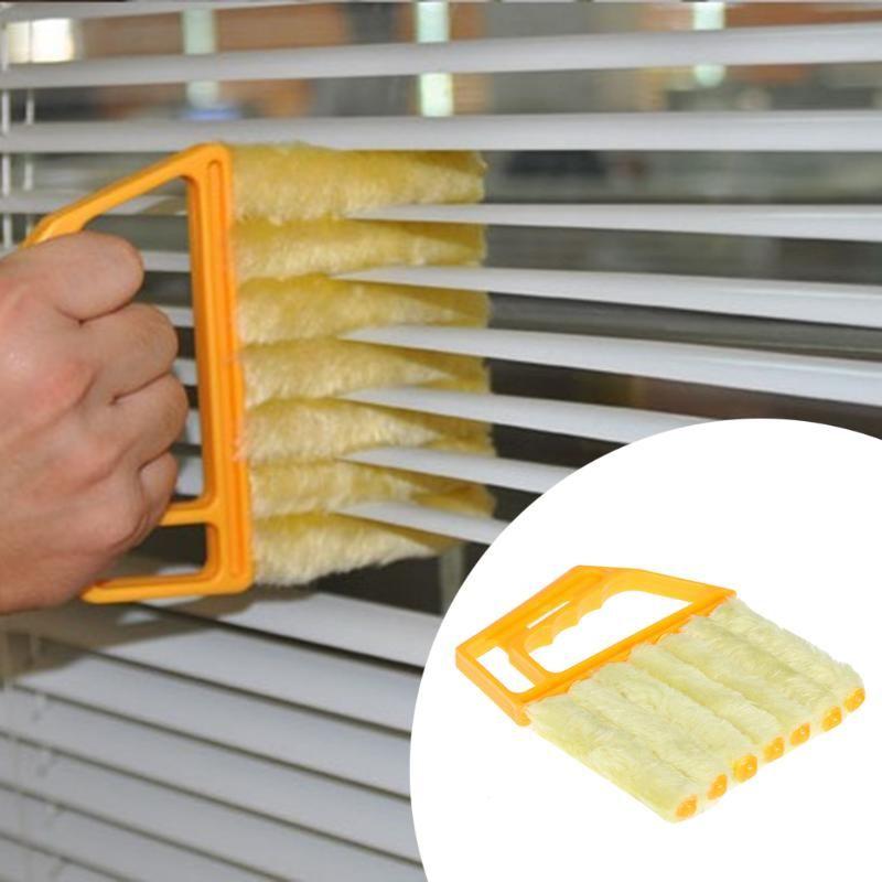 Abnehmbare Shutter Blind Reiniger Pinsel Staubtuch Jalousien Einfache Reinigung Werkzeug Waschbar Nützlich Waschen Windows Werkzeuge