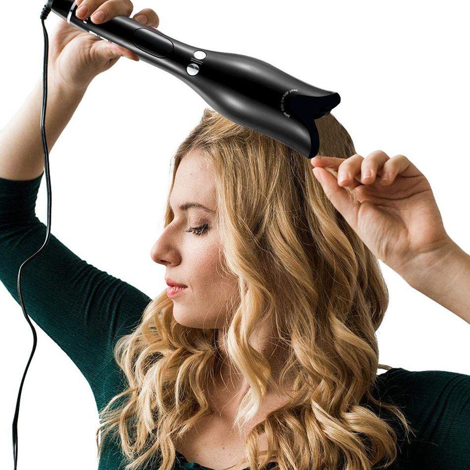 Fer à friser LCD multifonction en forme de Rose bigoudi professionnel outils de coiffure bigoudis baguette Waver Curl automatique Air bouclé