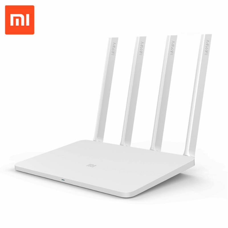 Xiaomi Mi WIFI Router 3 11AC Dual Band 2.4/5G  ROM/RAM APP 1167Mbps 128M Control External USB storage