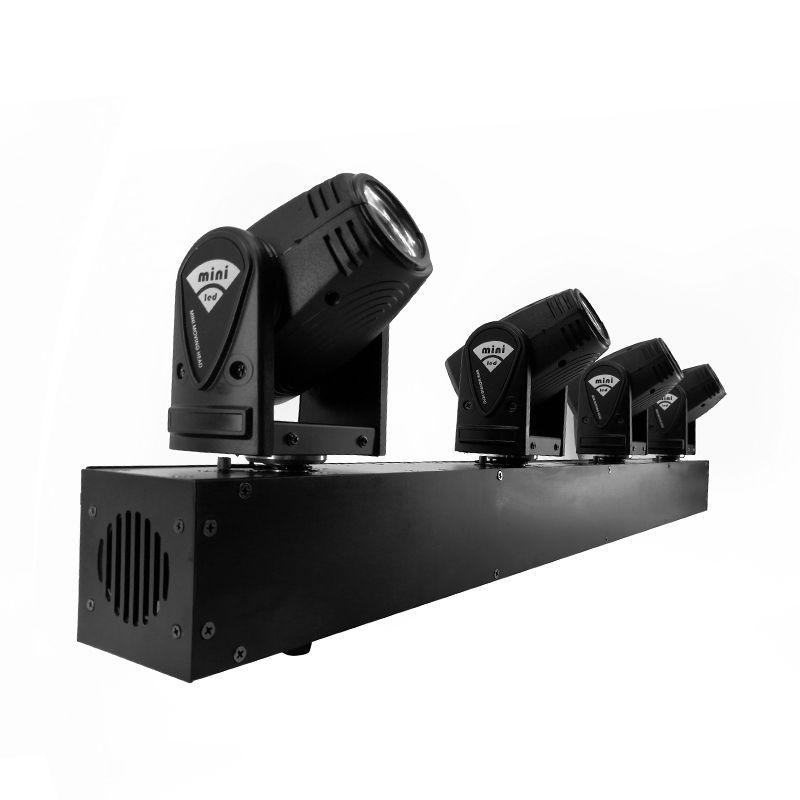2pcs/lot 4Head LED Spot 4x10W RGBW Beam Moving Head Lighting Bar Stage Lighting Effect Stage Professional Discoteca & dj Light