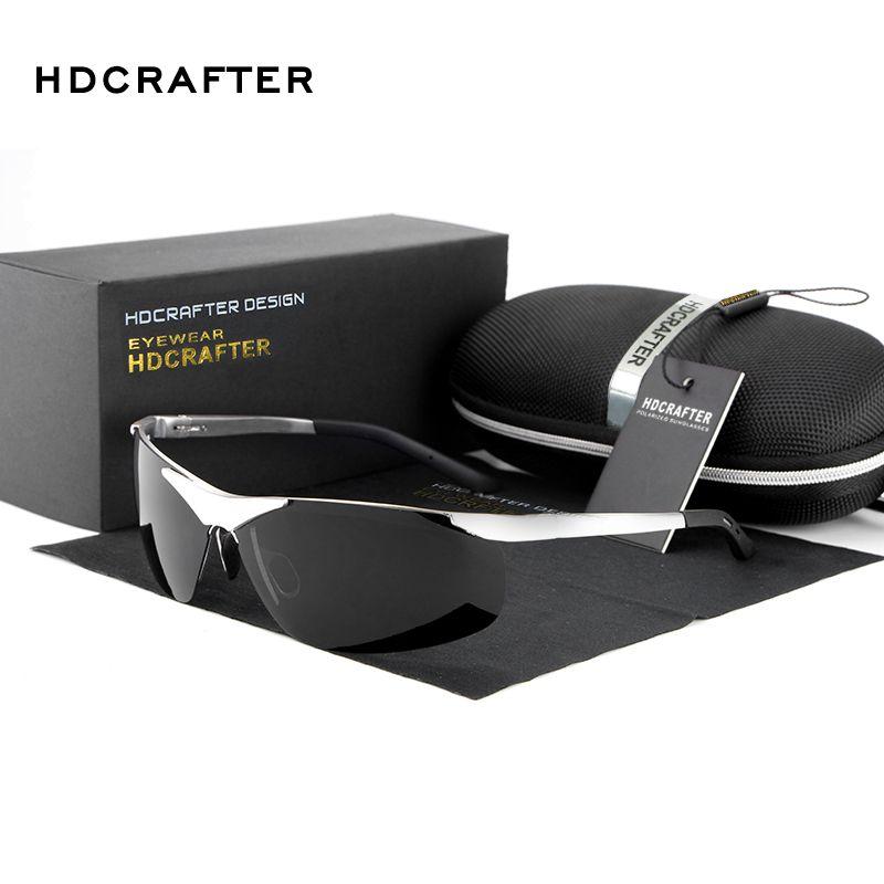 Großhandel Marke Designer Aluminium-magnesium-legierung Polarisierte Sonnenbrille Für Männer Fahren Sonnenbrille 6806 Oculos De Sol