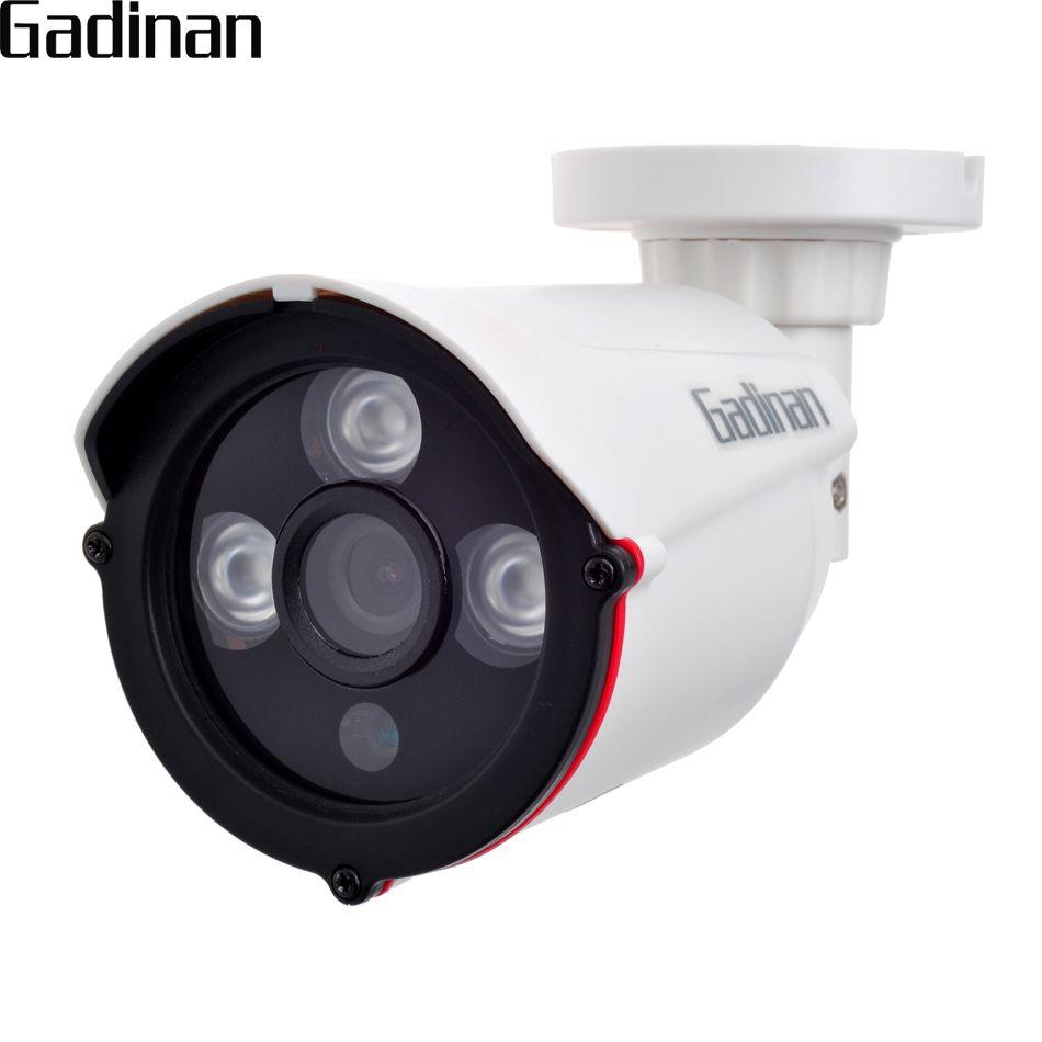 Gadinan 720 p 960 P 1080 p 2.8mm gran angular seguridad al aire libre impermeable visión nocturna P2P CCTV ONVIF ir corte xmeye ABS IP CAM 48 V PoE