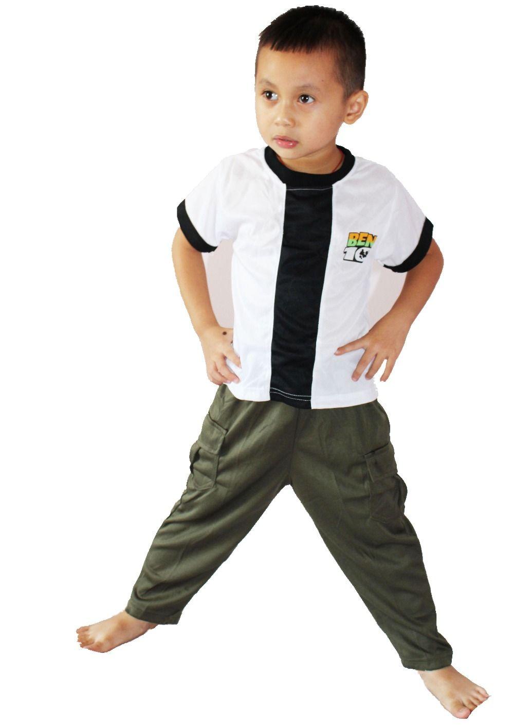 Kid Cosplay Halloween Party Ben 10: Course Contre Le Temps vêtements, Garçon BEN-10 jeu de Rôle vêtements, Court manches T-shirt taille: S-XXL