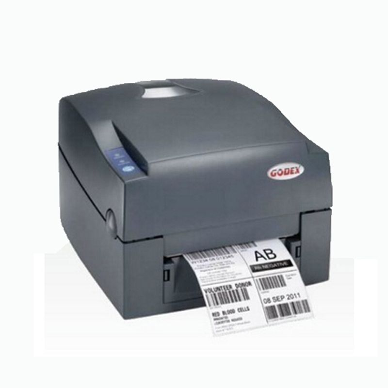 Godex barcode label printer USB port Support stickers paper clothes hang tag G500u (203DPI) impressora multifuncional