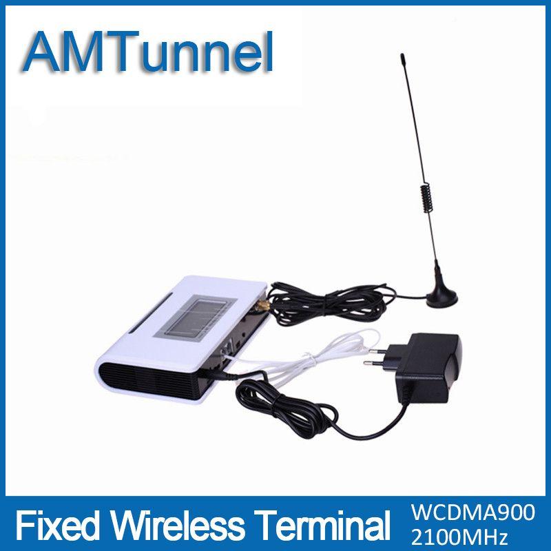 3 г WCDMA2100MHZ терминал UMTS fwt с ЖК-дисплей дисплей для подключения настольного телефона чтобы сделать телефонный звонок