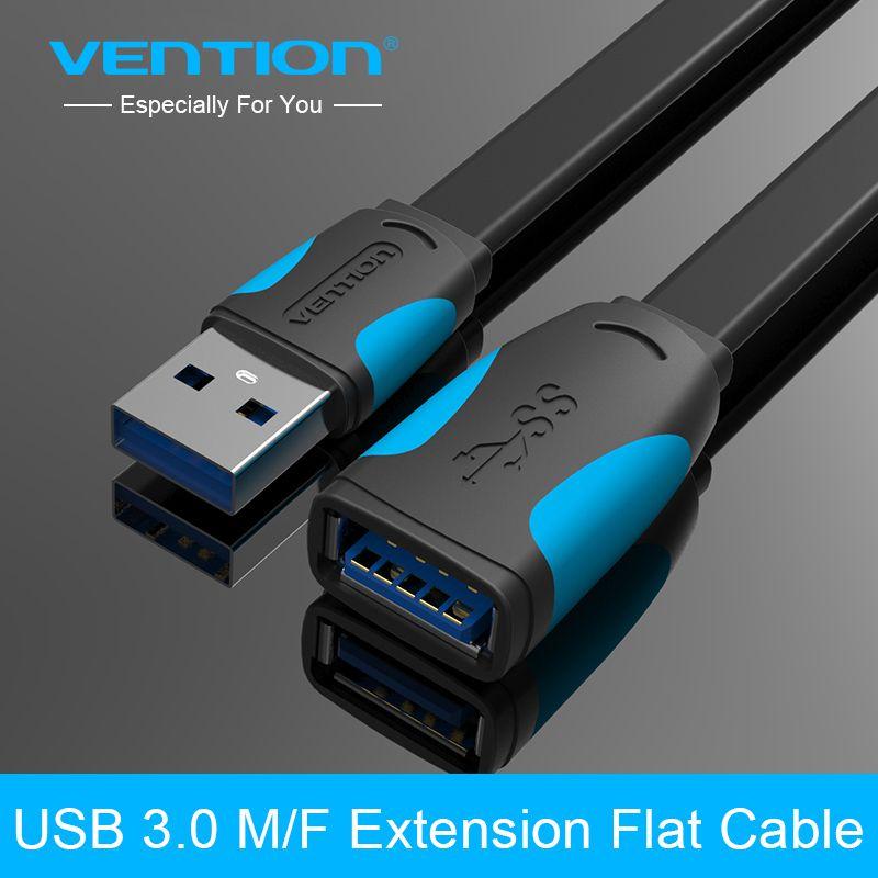 Tions High Speed USB 3.0 Verlängerungskabel 0,5 mt 1 mt 1,5 mt 2 mt 3 mt USB 3.0 Männlichen Zu Weiblichen Transfer Extender
