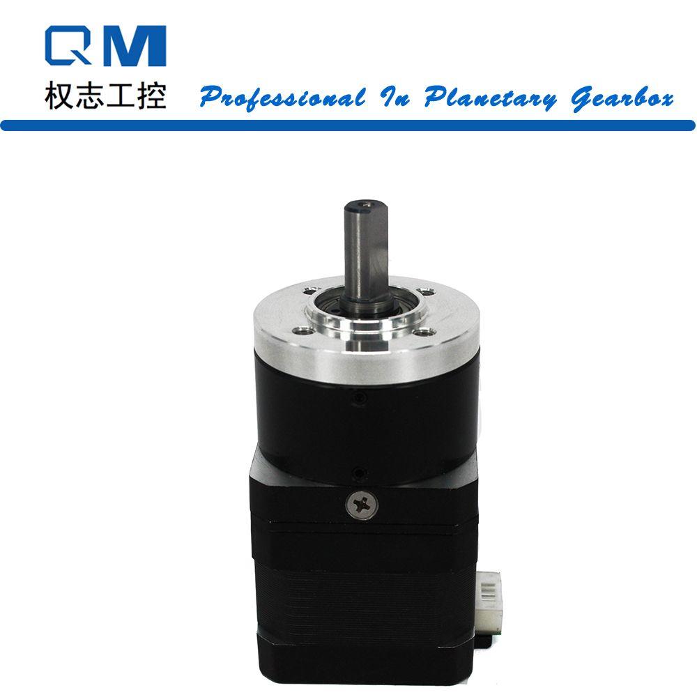 Motoréducteur nema 17 moteur pas à pas L = 34mm rapport réducteur planétaire 10:1 CNC pompe robot