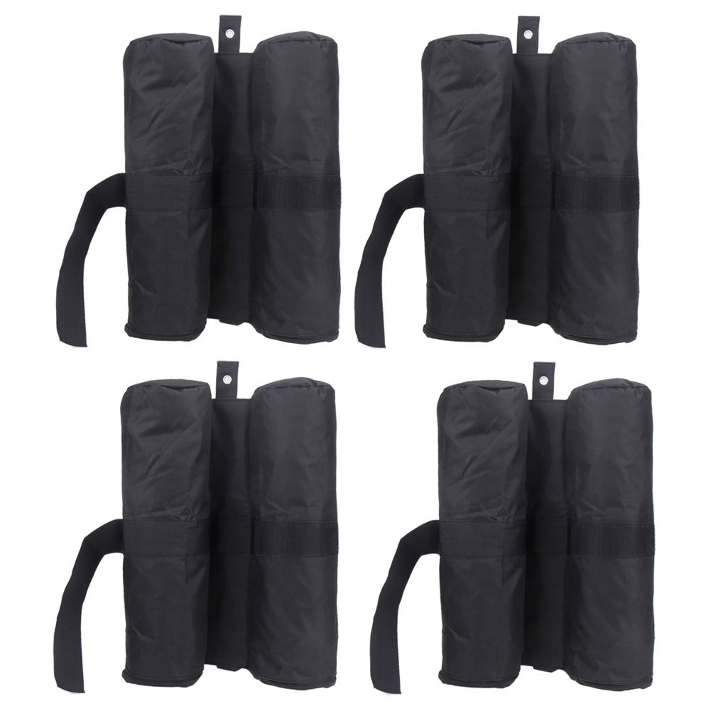 4pcs/Pack Leg Weights Outdoor Camping Tent Sand Bag Anti-tear Instant Canopy Weight Sandbag Instant Canopy Weight Sandbag