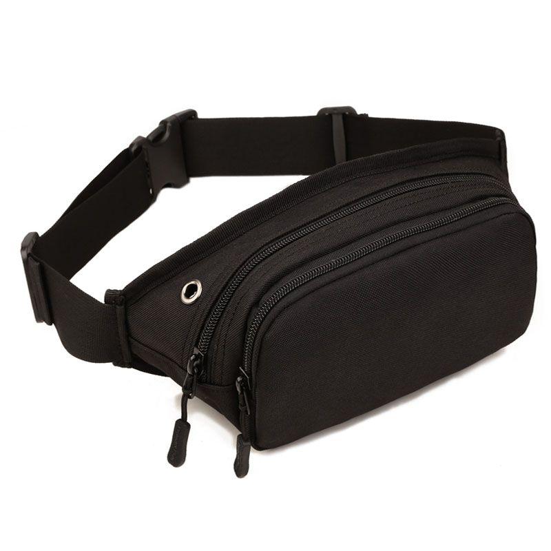 Hommes étanche 1000D Nylon fronde poitrine sac Fanny Pack taille sac hanche Bum ceinture croix corps Messenger décontracté épaule poche sac à main