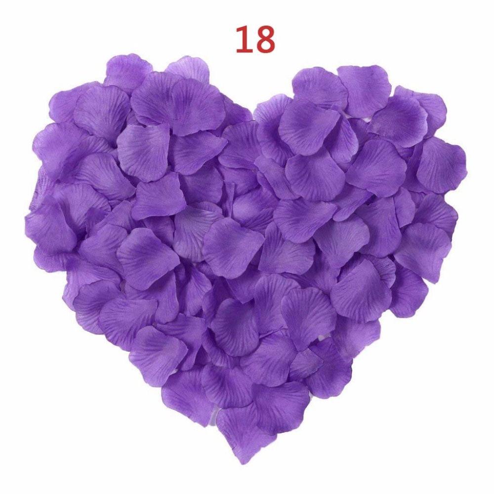 New Arrival 2016 Wholesale 2000pcs/lot Wedding Decorations romantic Artificial Flowers Polyester Wedding Rose Petals RP004
