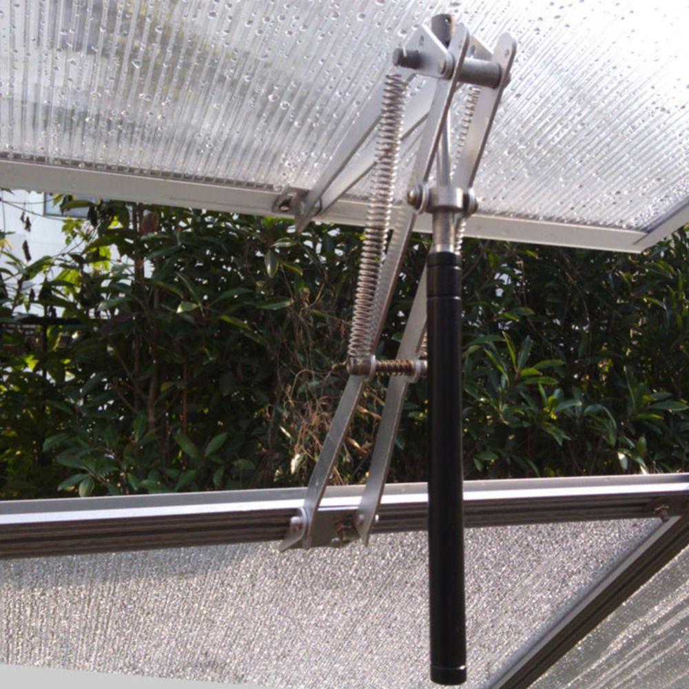 Solar Heat Sensitive Automatic Window Opener Greenhouse Vent Agricultural Greenhouse Replacement Maximum 40cm Garden Tools