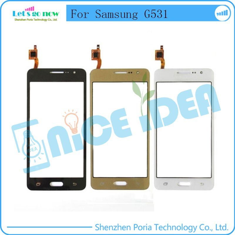 FLPORIA For Samsung Galaxy Grand Prime G530 G531 Glass Lens TouchScreen Digitizer  Track Number