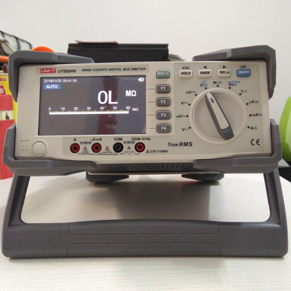 UNI-T UT8804N Bench top Multimeter 1000 V 20A 59999 Zählt Digital-Multimeter tester Auto Range Multimetro Digital Voltmeter Ohm