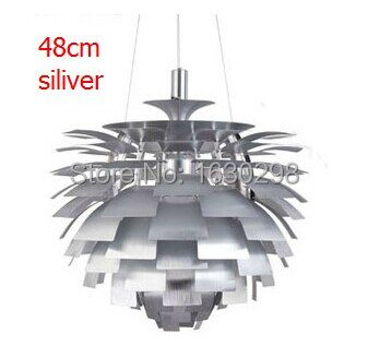 Modern Louis Poulsen PH Artichoke Pendant Lamps Denmark Designer Pendant Lamp Light Fixtures Aluminium Bedroom Lighting