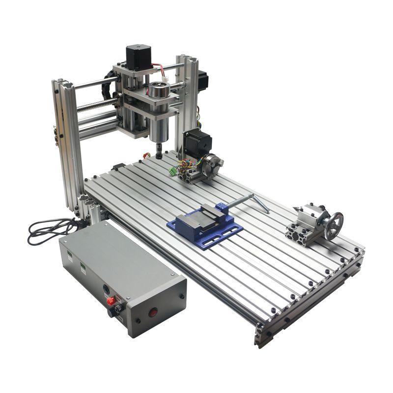 6020 metall CNC Router Fräsen Maschine, Diy CNC maschine, USB CNC mit 400 watt spindel fräsmaschine