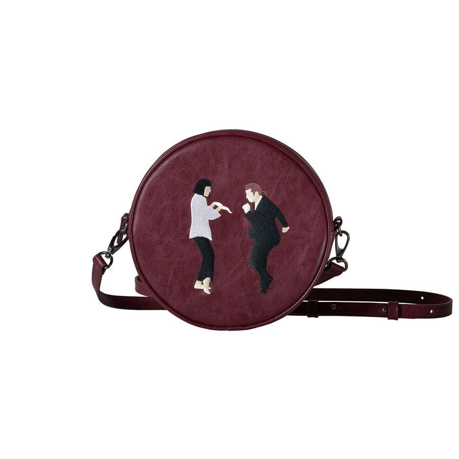 Kiitos Vie Circulaire PU messenger sacs pour les filles d'origine conçu dans 2 styles (FUN KIK)