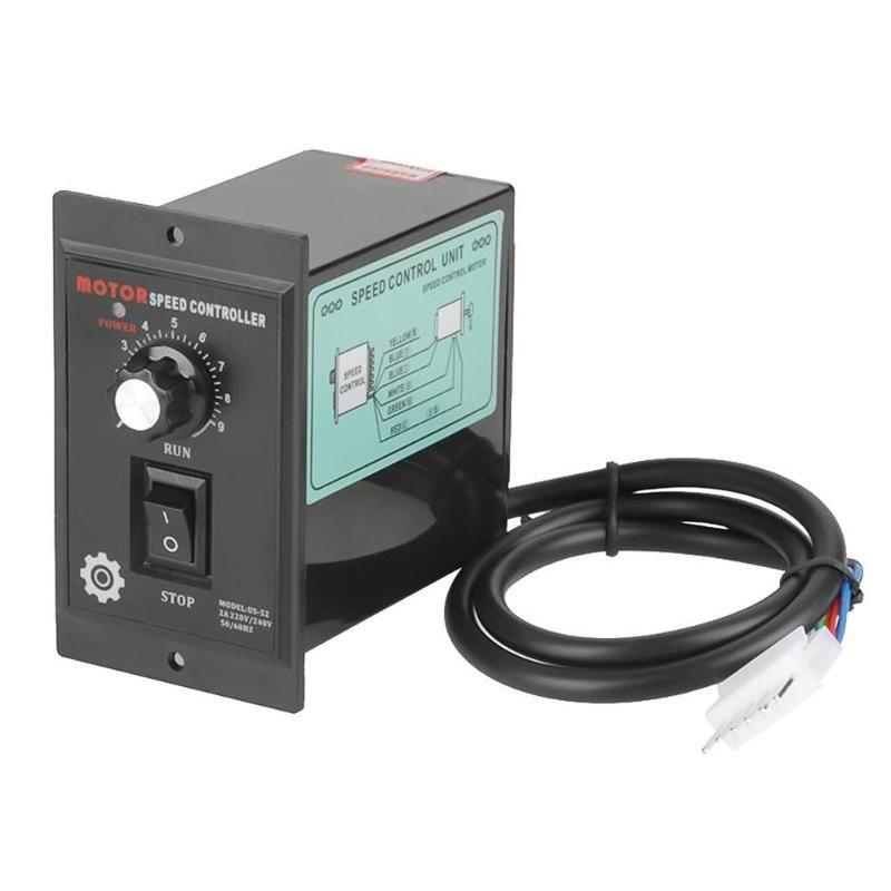 400 W AC 220 V moteur régulateur de vitesse pour moteur à courant alternatif numérique réglable en continu moteur régulateur de vitesse 0-1450 tr/min