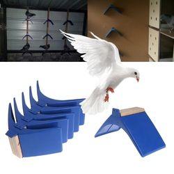 Pigeon Bertengger Plastik Tahan Panas Dove Istirahat Bertengger Burung Berdiri Pemegang Perlengkapan