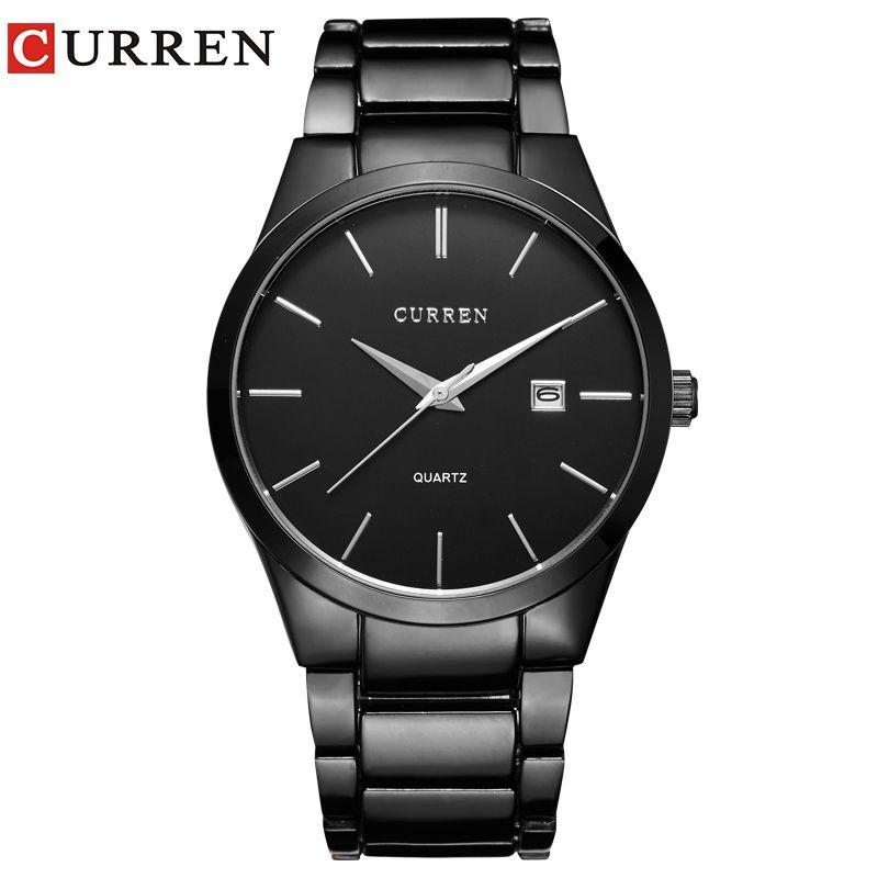 relogio masculino CURREN Luxury Brand Analog sports Wristwatch Display Date Men's Quartz Watch <font><b>Business</b></font> Watch Men Watch 8106
