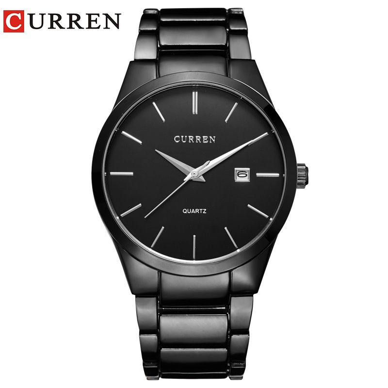 relogio masculino CURREN Luxury Brand <font><b>Analog</b></font> sports Wristwatch Display Date Men's Quartz Watch Business Watch Men Watch 8106