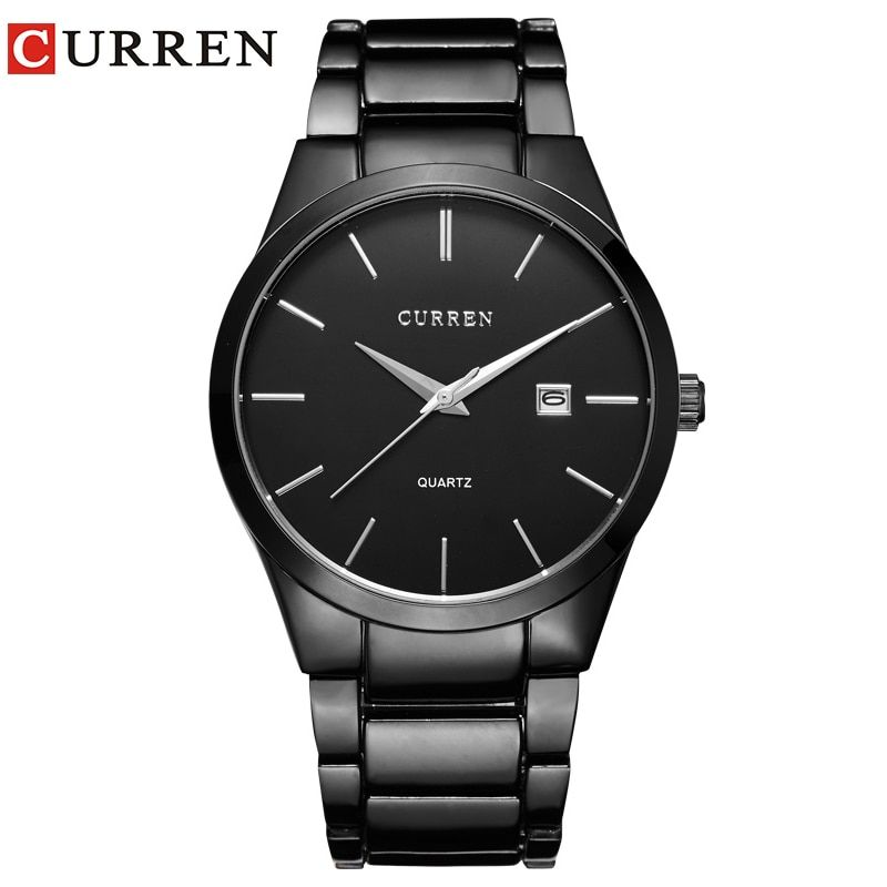relogio masculino CURREN Luxury <font><b>Brand</b></font> Analog sports Wristwatch Display Date Men's Quartz Watch Business Watch Men Watch 8106
