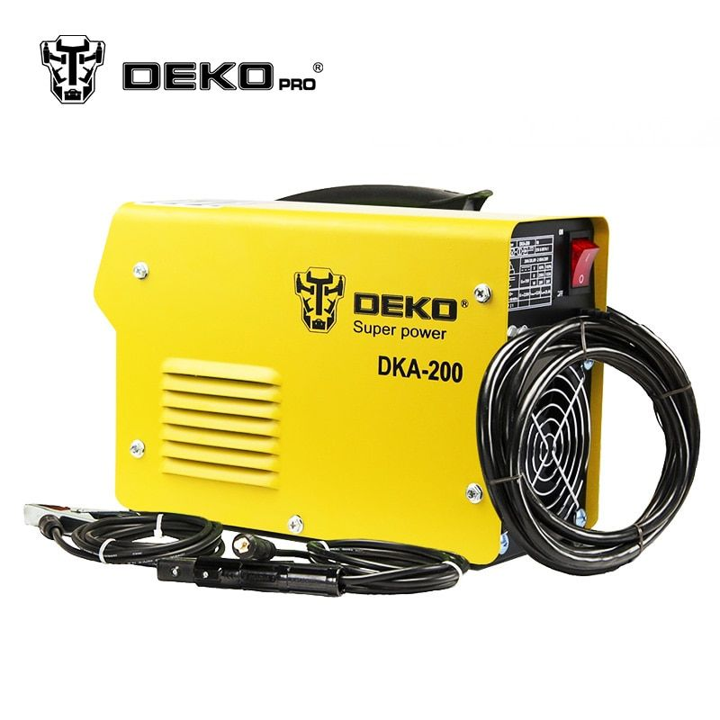 DEKOPRO DKA-120 800W 120A 21S IP AC Arc Electric Welding Machine MMA Welder