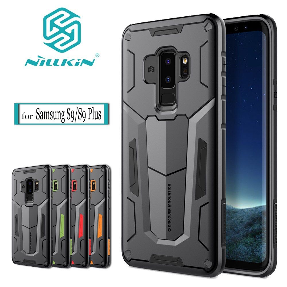 Nilkin Shockproof Armour Case For Samsung Galaxy S9 S8 Plus Note 8 NILLKIN Defender 2 Rugged Shield Back Cover Bag Tough Capa
