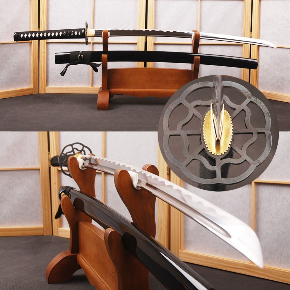 The Last Samurai Japanese Katana Sword Handmade High <font><b>Carbon</b></font> Steel Full Tang Sharp Espada Tom Cruise Samurai Cosplay Sword