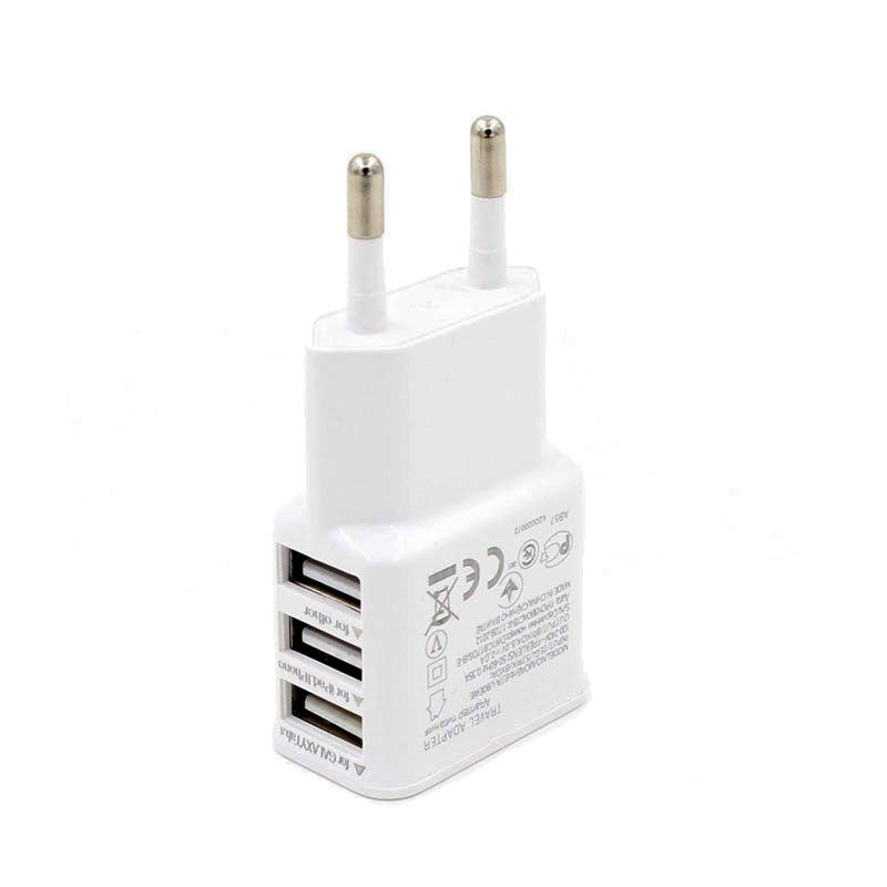 USB Charger 5V 3A Universal Portable Travel Wall Charger Adapter US EU Plug Mobile Phone Charger for Meizu LG Oukitel Leeco Le