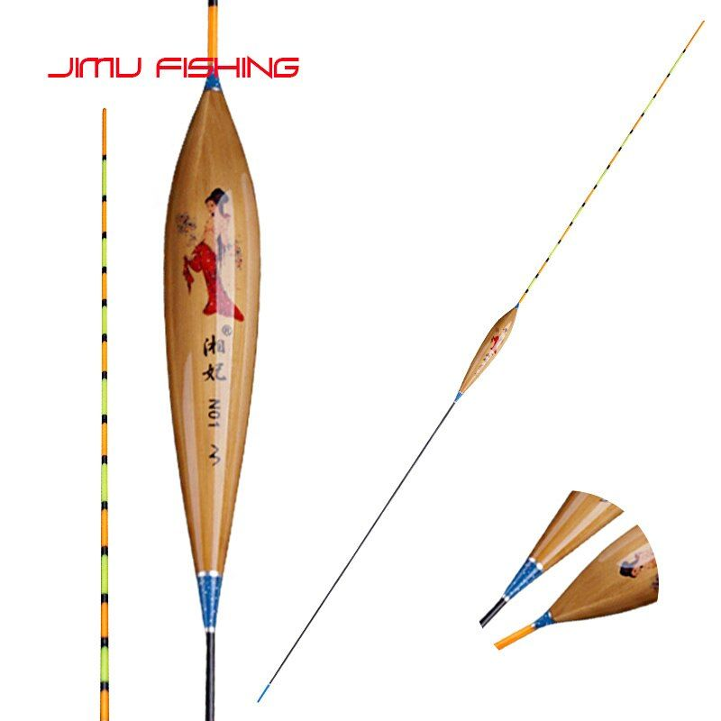 Superb Qualität Anglerknicklichter Licht Gewichteten Reed Pesca Vertikale Boya Langen Schwanz Bobber Flachen Wasser Angelgerät Zubehör