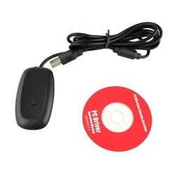 For Microsoft XBOX 360 Console PC Gaming Gamepad USB Receiver Adapter For Xbox 360 Controller USB PC Wireless Receiver Adapter