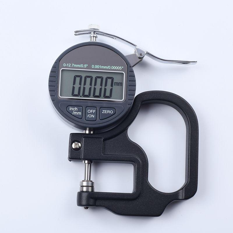 0.001mm jauge d'épaisseur numérique 10mm Portable LCD micromètre électronique micron testeur d'épaisseur avec sortie de données RS232