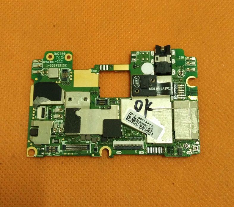 Used Original mainboard 4G RAM+32G ROM Motherboard for Elephone P9000 MT6755 Octa Core 5.5