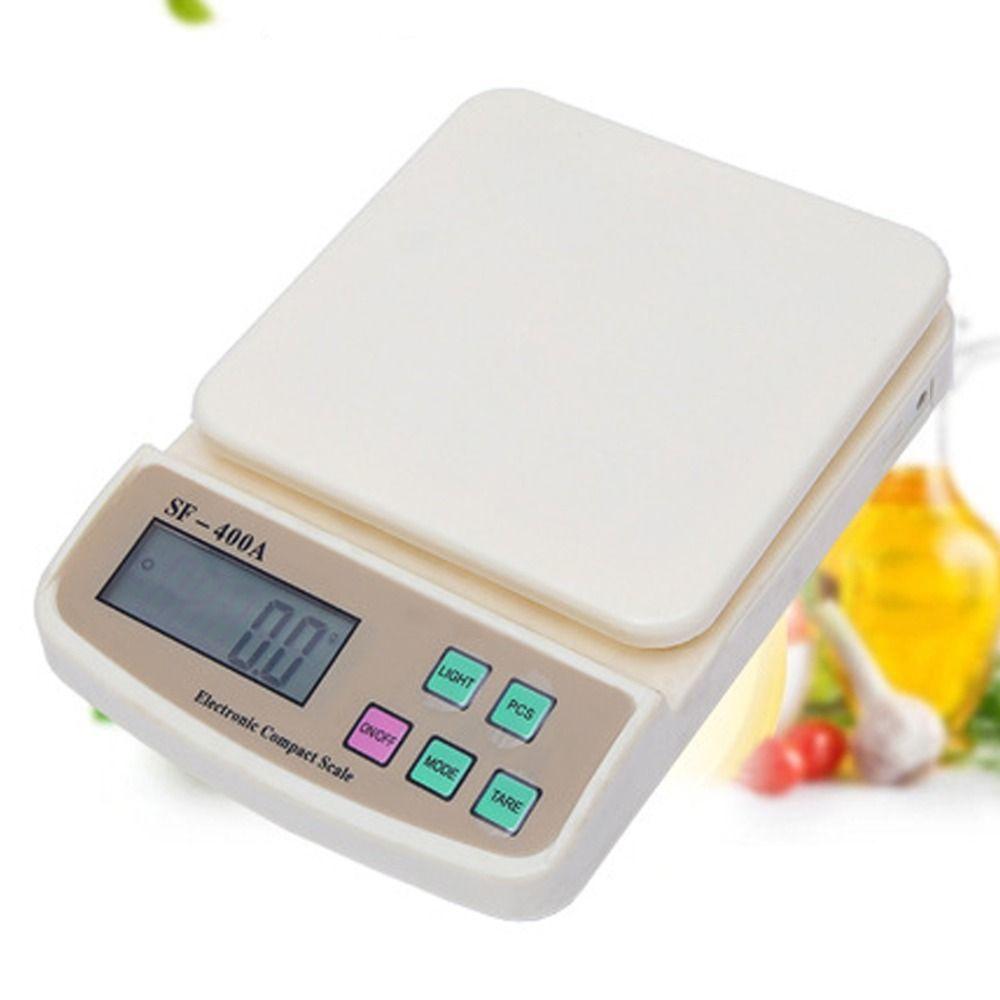 10 kg/1g Numérique Postal fruit Cuisine Régime Alimentaire comptage Pesage balance balance électronique échelles avec rétro-éclairage romaine équilibre