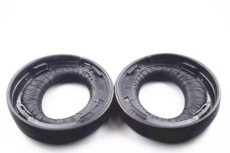 Оригинальный черный уха Pad Подушки наушник подушечки для Sony Gold Беспроводной PS3 PS4 7.1 Virtual Surround гарнитура CECHYA-0083 (L + R)