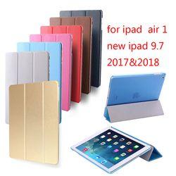 Vente chaude Pour iPad Air Retina Smart Cover Case, Ultra Mince Designer Tablet Cover En Cuir Pour Apple iPad5 Cas