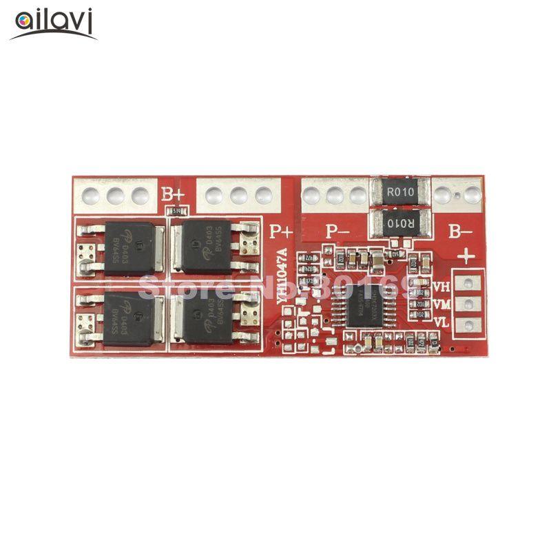 3 S 30A Lithium-eisenphosphat-batterie Schutz Bord Modul 9,6 V 10,8 VOvercharge Über Kurzschluss Mit Automatische Aktivierung