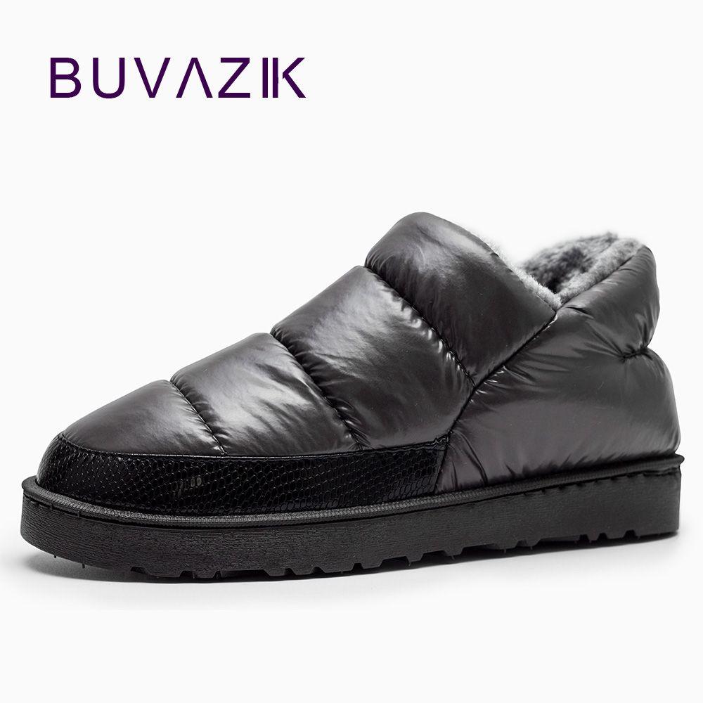 Для мужчин зимние ботинки, Утепленные ботинки на плоской подошве; водонепроницаемые сапоги для зимы Бесплатная доставка, удобный мягкий хл...
