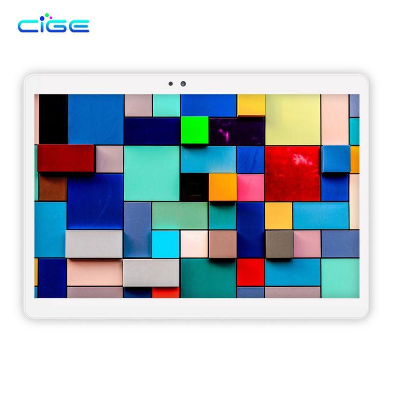 GEIC M9 LTE/WiFi 4 GB RAM 64 GB ROM 10.1 ''Tablet PC Octa Core Android 6.0 1920x1200 Full HD IPS Écran GPS Bluetooth en métal retour
