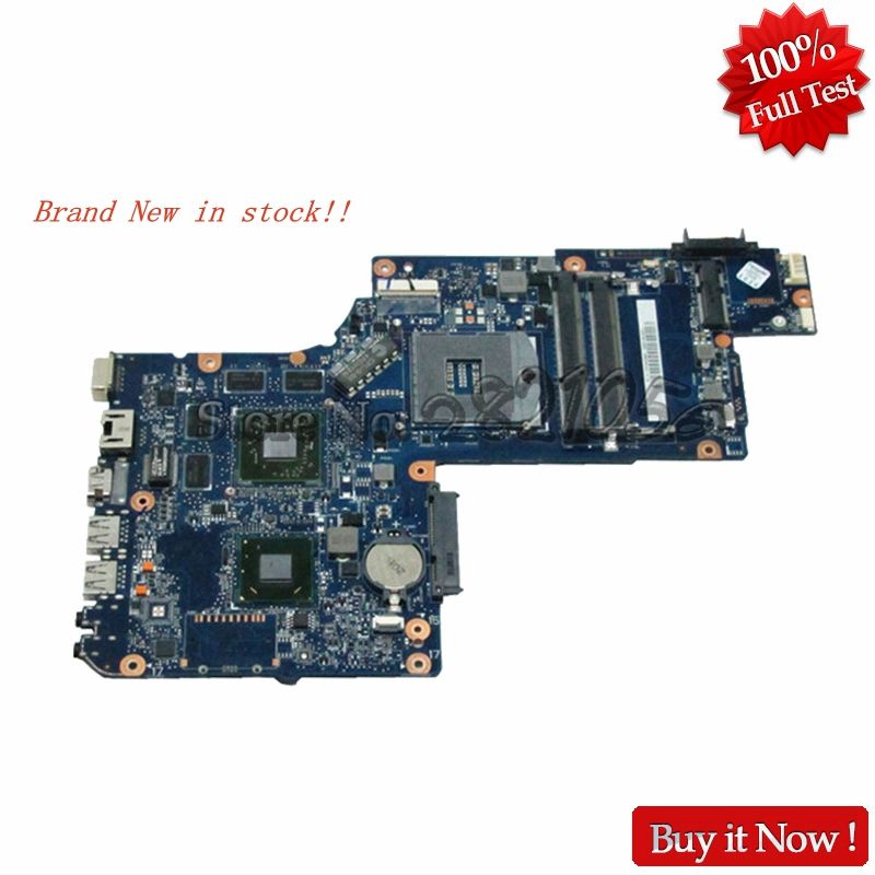 NOKOTION Brand New Laptop Motherboard for toshiba C870 L870 L875 H000046340 17.3 Screen Mobility Radeon HD 7610m DDR3 Mainboard