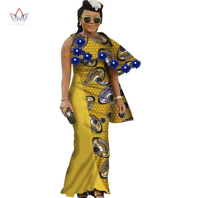 2017 г. в африканском стиле платья для женщин новая Дизайн Дашики женщин О-образным вырезом Длинные прямые платье длиной до лодыжки Дашики Бол...
