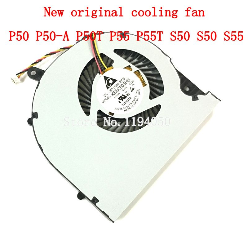 New original CPU cooling fan for P50T S55t P50-AST2NX2 P50-AST3NX2 P50-AST3NX3 P50 S50 S55 KSB0805HB CL1X