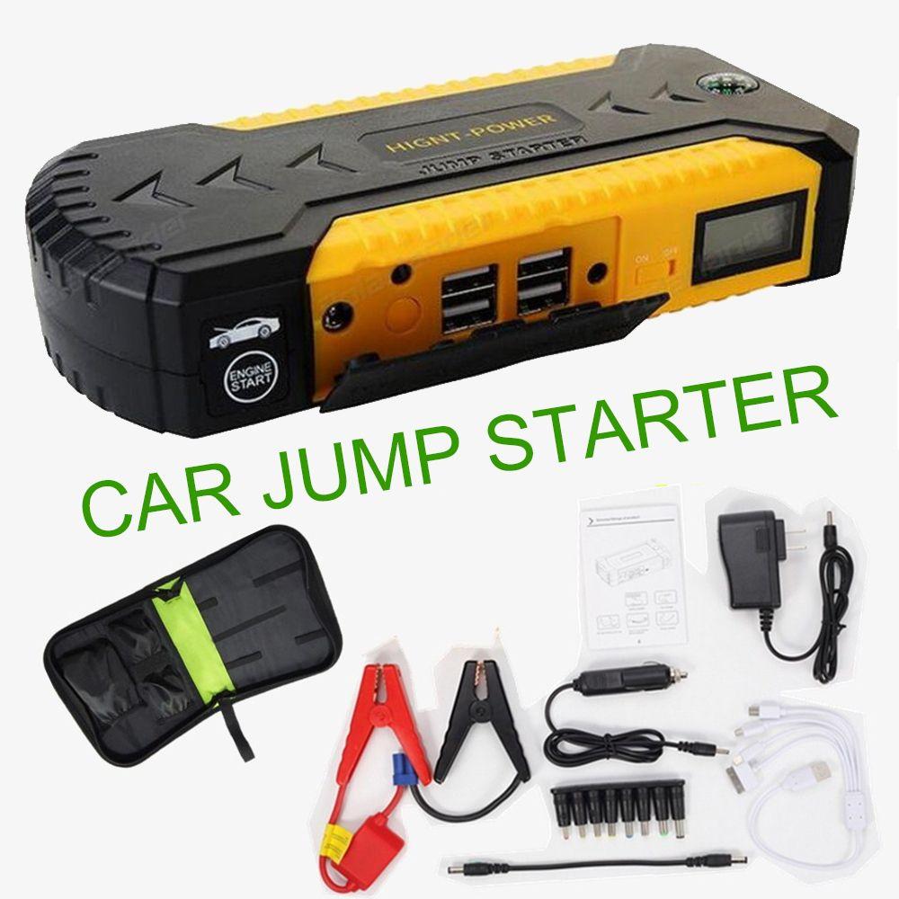 Автомобиль скачок стартер Power Bank 12 В аварийного Автомобильный Аккумулятор Booster Многофункциональный автомобиль начинающих начать Лидер про...