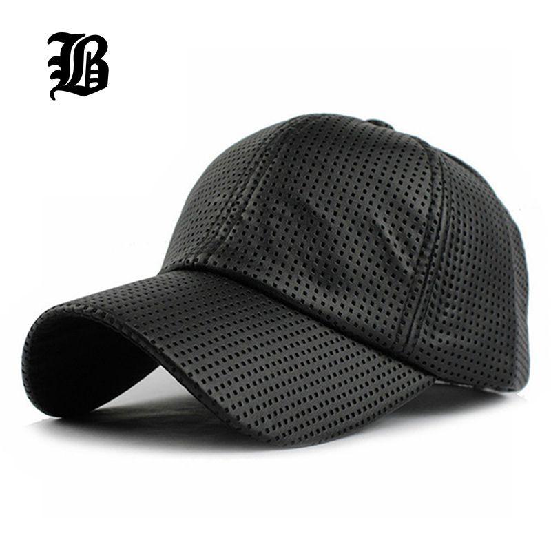 [FLB] vente en gros PU noir casquette de Baseball femmes automne casquette en cuir casquette de camionneur équipée Snapback chapeaux pour hommes chapeau d'hiver pour femmes