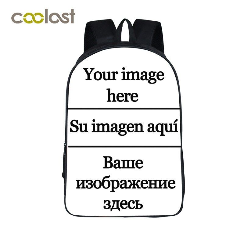 Customize the Image Backpack for Teenagers Girls Boys School Bags Big Red Lips bolso mochila mujer 2018 Punk Women Skull Bagpack
