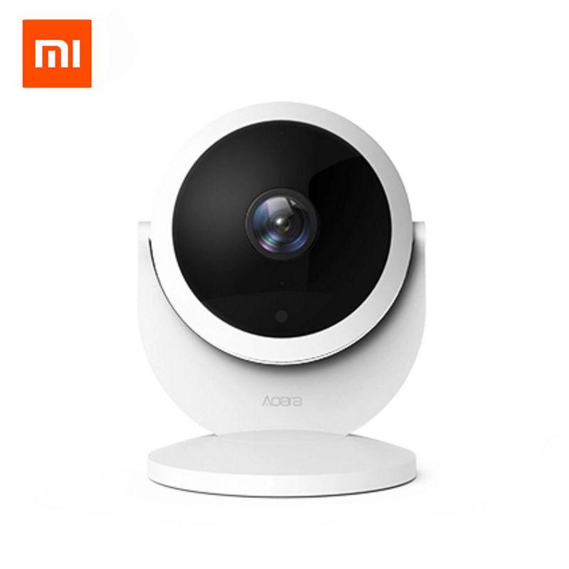 Original Xiaomi Mijia Aqara Smart Ip-kamera CCTV Verknüpfung Alarm 1080 P HD Gateway/Hub Edition Gateway Funktion 180 Grad FOV